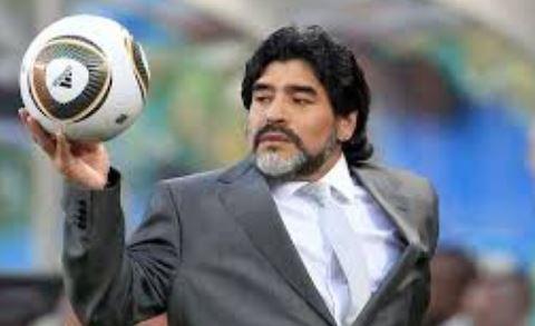 महान अर्जेन्टिनी फुटबलर रहेनन् म्याराडोना
