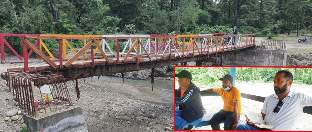 सोल्टी खोलाको पुल साढे तीन वर्षदेखि अलपत्र,पुल निर्माणमा अनियमितता गरेका छैनौं : बजगाई